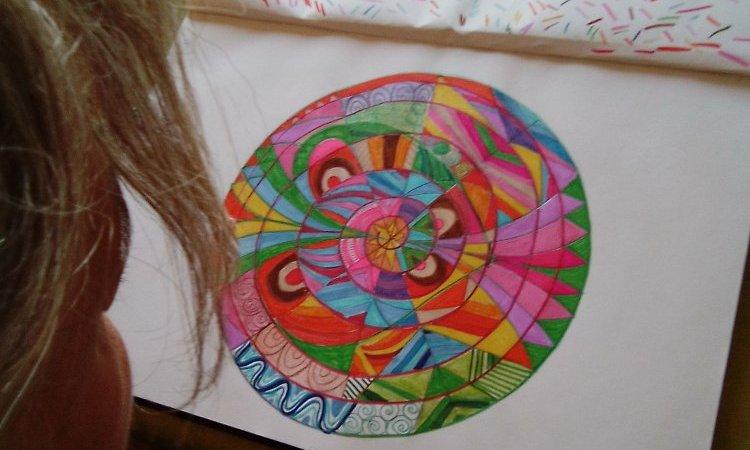 Mandala, je me retrouve avec mon intérieurité...