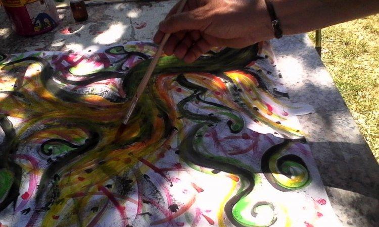 La peinture expressive !